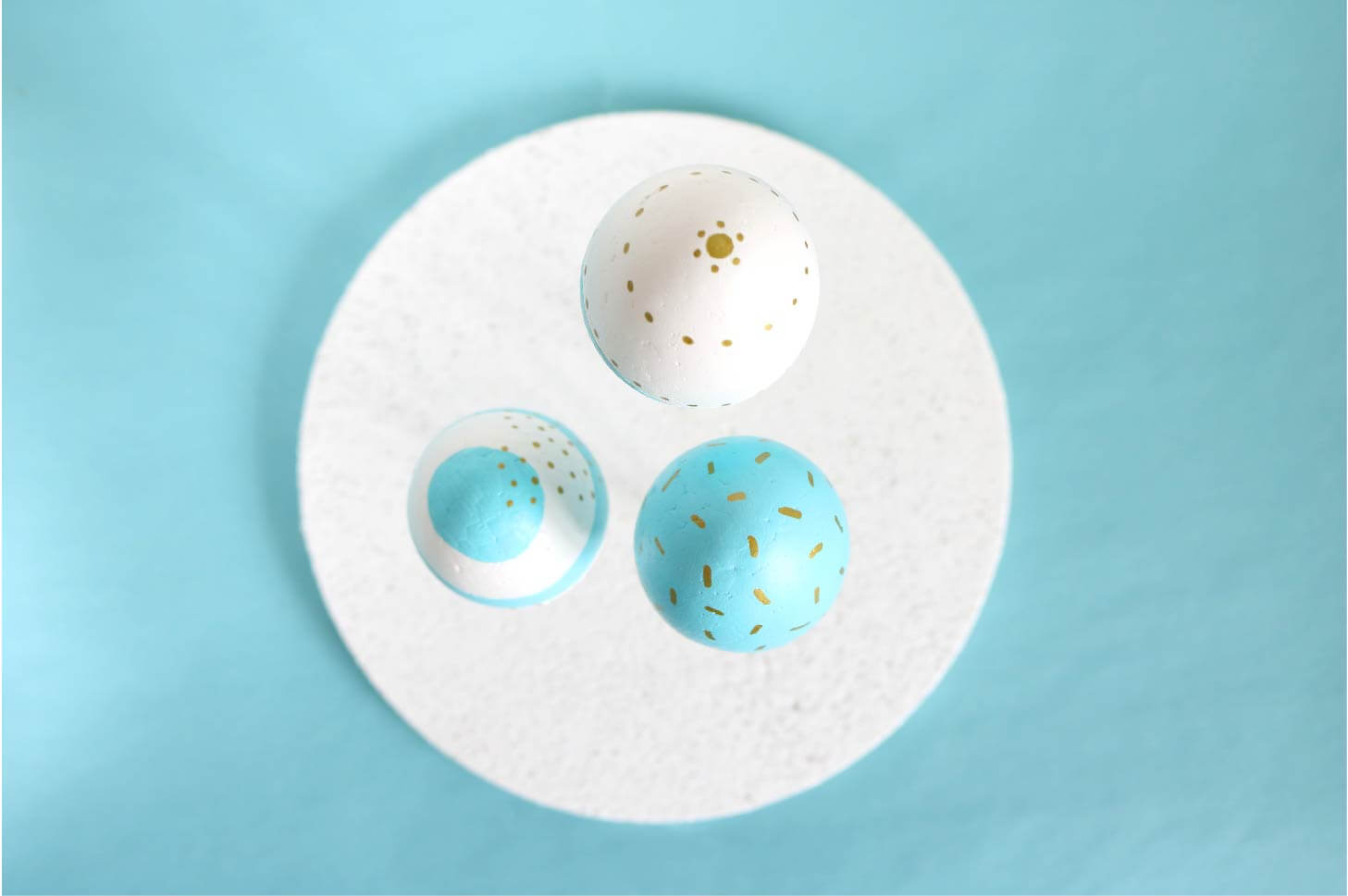 Trio oeufs de Pâques !