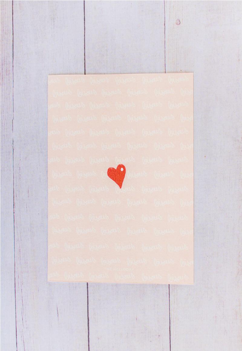 Cartes petits mots doux St Valentin - Heart