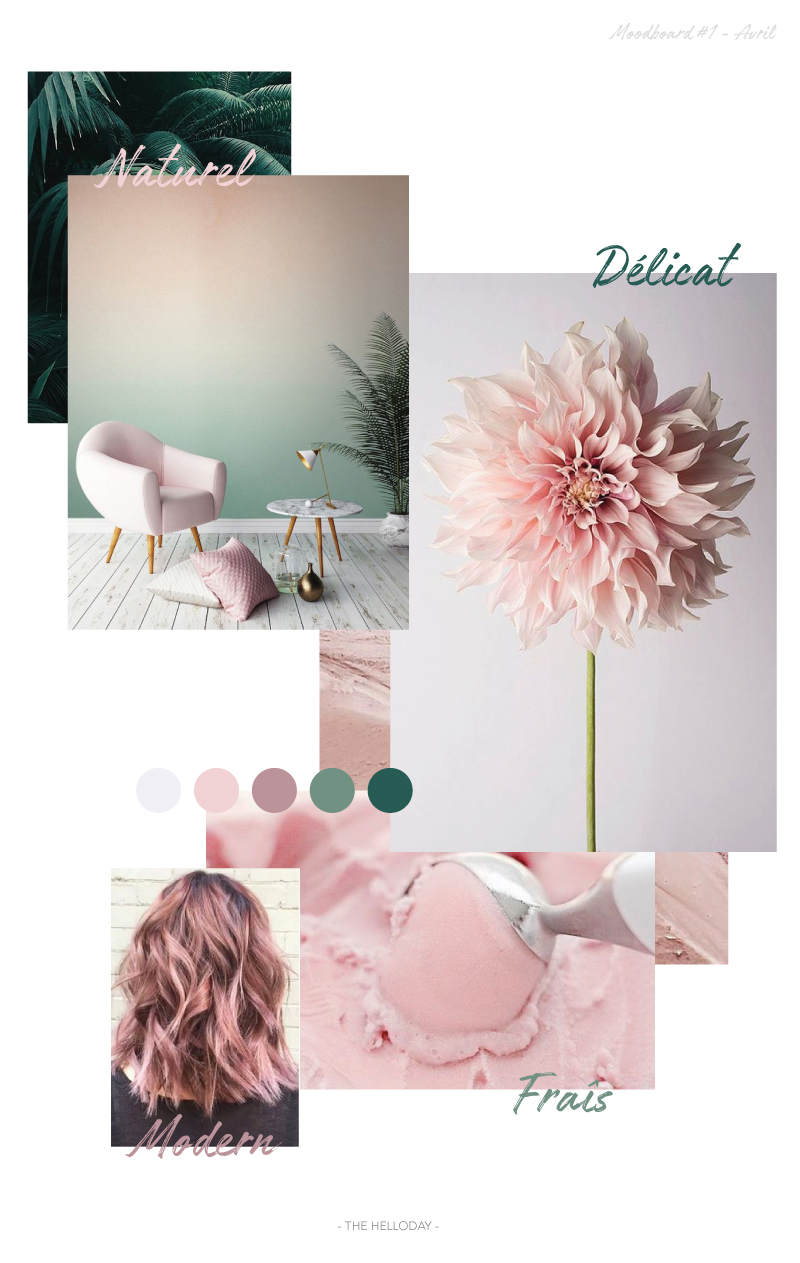 Moodboard #1 - Spring is coming