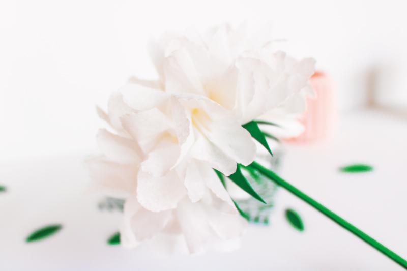DIY fleur en papier de soie