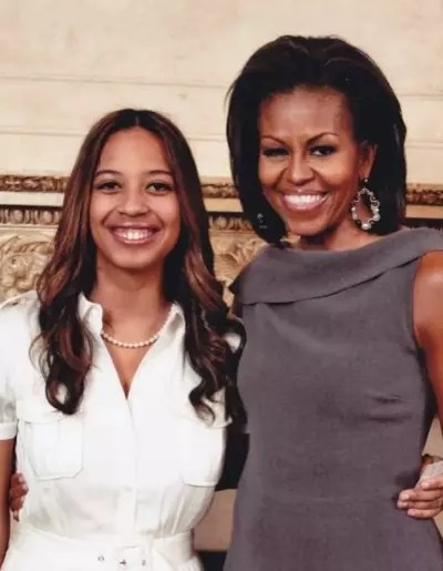 Lyric McHenry and Michelle Obama