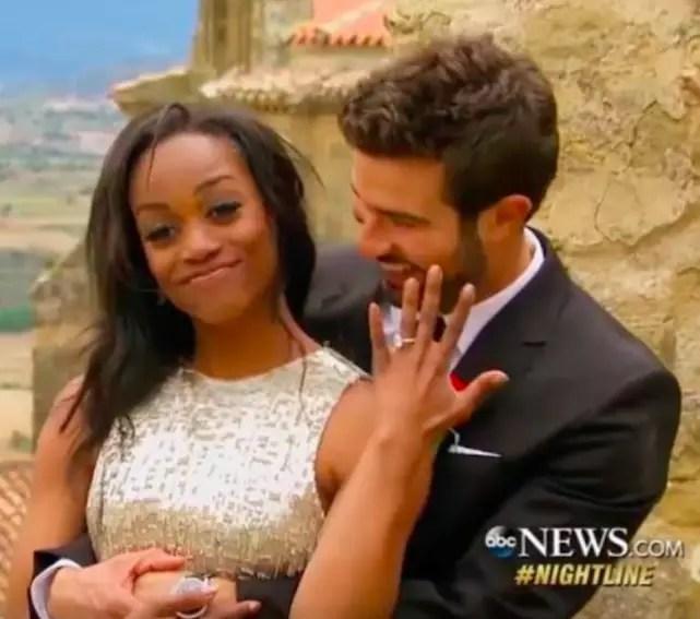 Rachel lindsay engagement ring