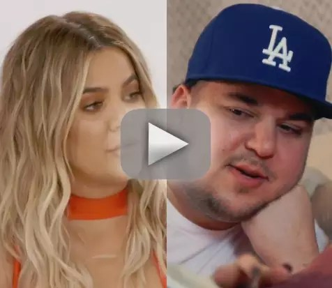 Khloe kardashian speaks out about rob kardashians weight