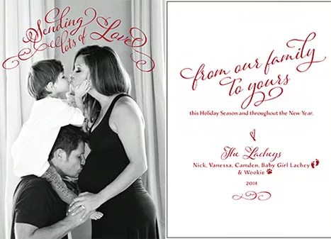 Nick And Vanessa Lachey Share Cutest Christmas Card