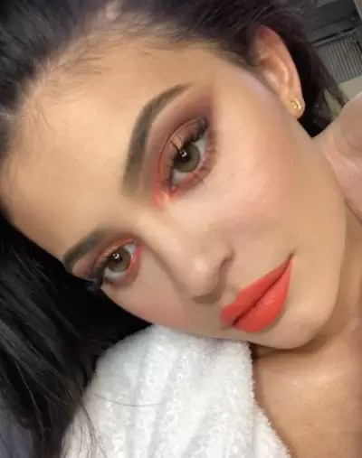 Kylie Jenner with Natural Lips