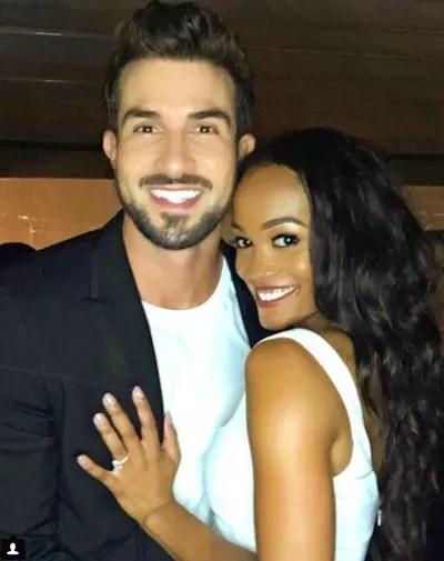 Rachel Lindsay and Bryan Abasolo on Instagram