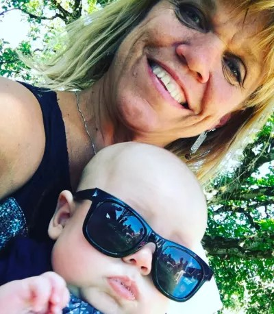 Amy Roloff and Cute Grandson