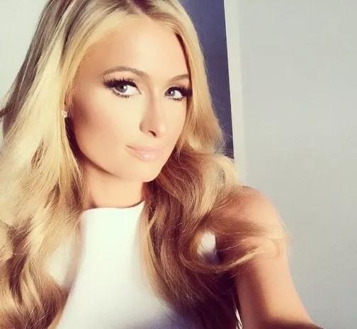 Paris Hilton Instagram Selfie