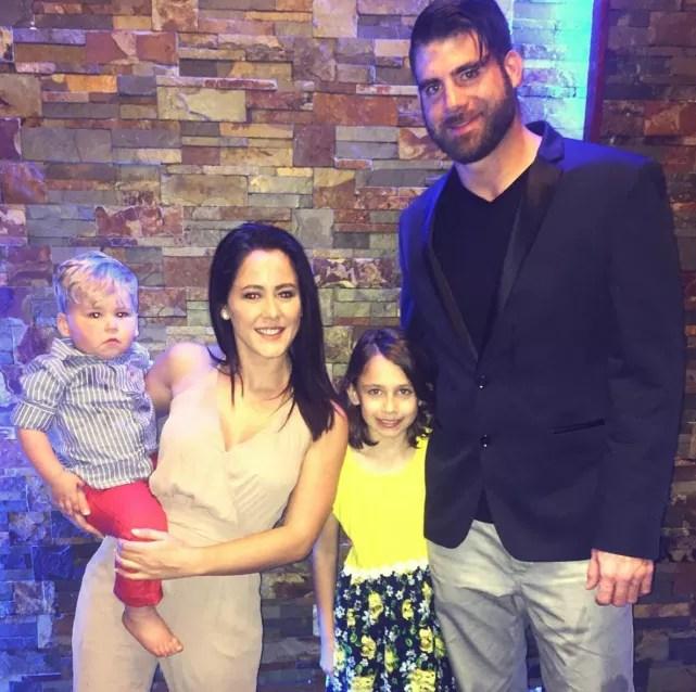 Jenelle evans david eason kids easter