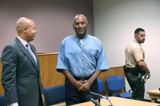 O.J. Simpson Parole Hearing Photo