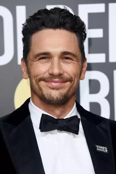 James Franco Golden Globes Photo