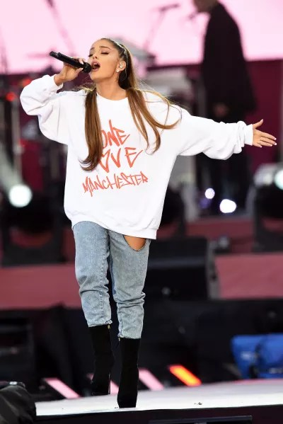 Ariana Grande Singing for One Love