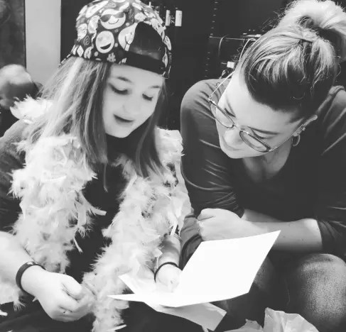 Amber Portwood With Leah Shirley