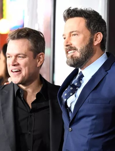 Matt Damon and Ben Affleck Together