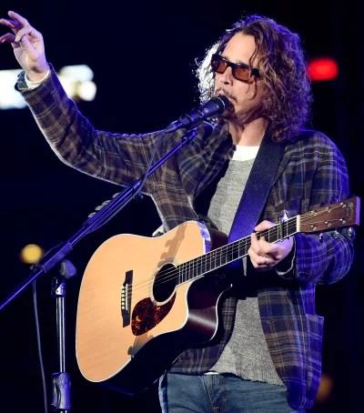 Chris Cornell on Guitar