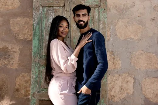 Brittany Banks and Yazan for 90 Day Fiance: The Other Way
