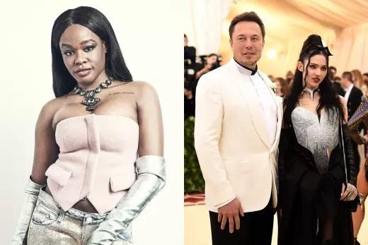 Azealia Banks-Elon Musk-Grimes