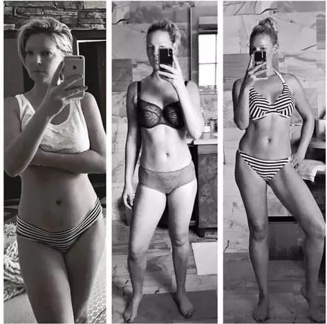 Katherine Heigl, Post-Baby Weight Loss