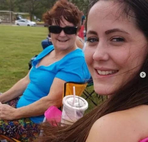 Jenelle and Babs Chillin'