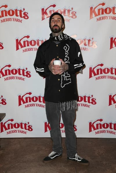Travis Barker: Knott's Berry Farm's Countdown To Christmas