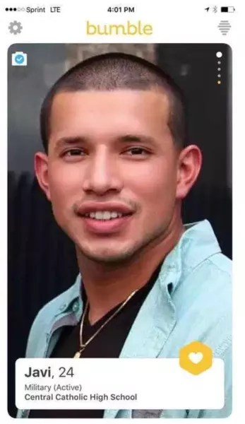 Javi Marroquin Bumble
