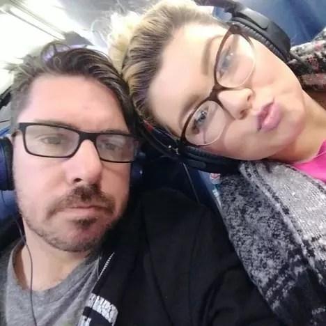 Amber Portwood, Matt Baier Selfie
