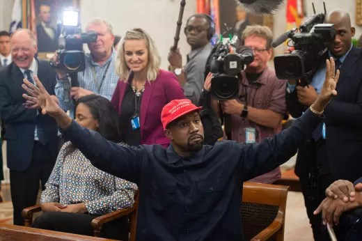 Kanye in the White House