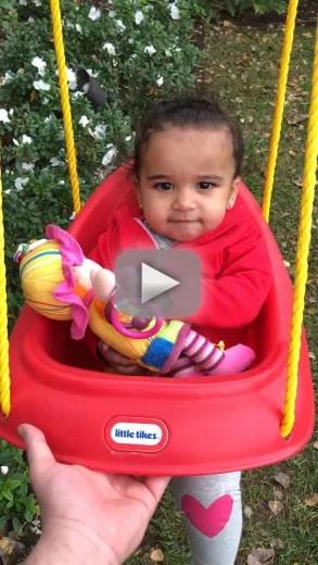 Rob kardashian shares video of dream swinging talking