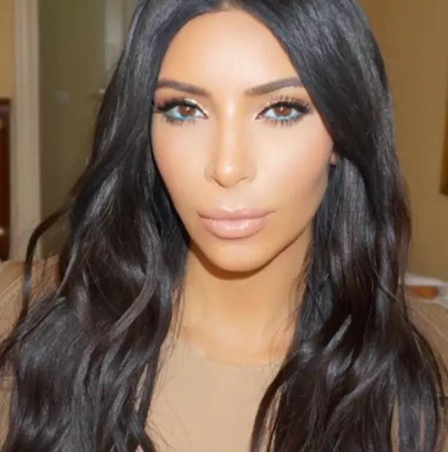 Kim kardashian on the instagram
