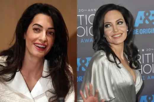 Amal and Angelina
