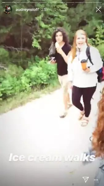 Audrey Roloff and Jeremy Roloff, Ice Cream Walks