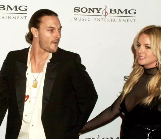 Britney Spears Kevin Federline Pony Tail