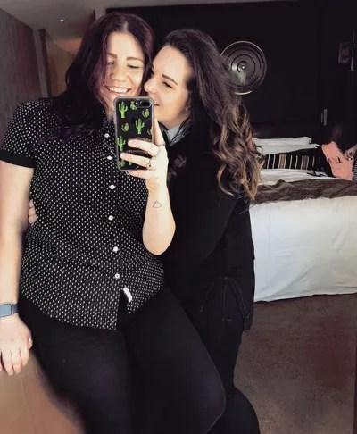 Mariah Brown and Audrey Kriss, Selfie