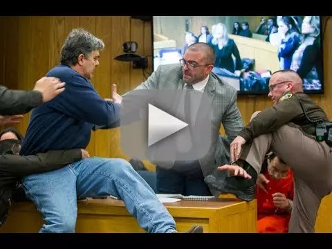 Hero dad attempts to kick larry nassars ass in court