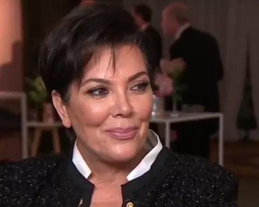 Kris Jenner, Satisfied Smile