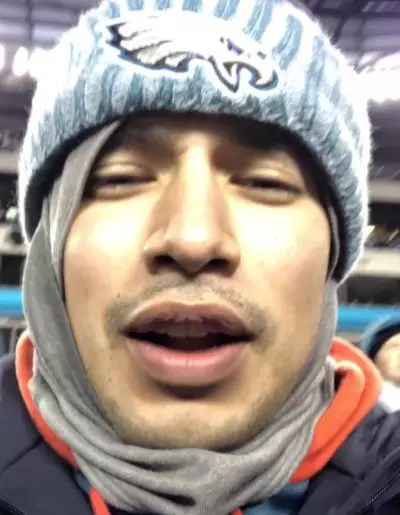 Javi Marroquin Watches Football