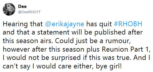 Erika Girardi rumor