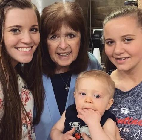 Joy-Anna Forsyth Mourns Grandma Mary Duggar