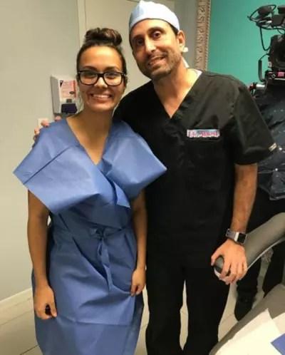 Briana and Dr. Miami