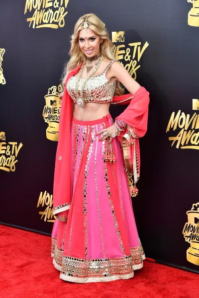 Farrah Abraham at the 2017 MTV Awards