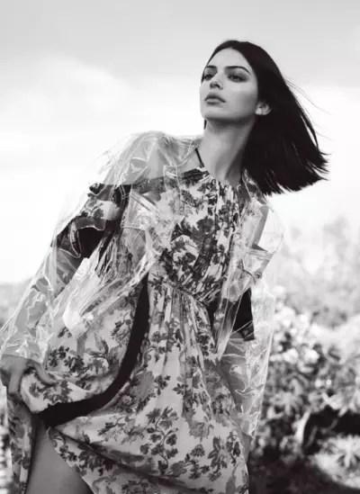 Kendall Jenner for 2018 Vogue