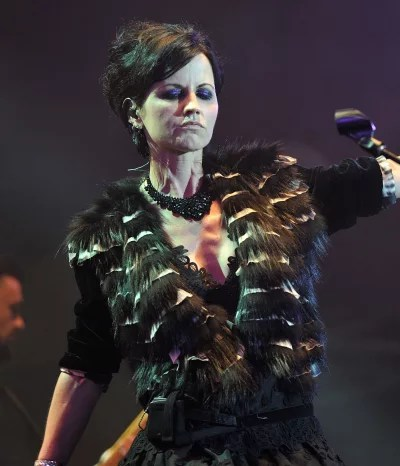 Dolores O'Riordan on Stage