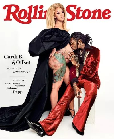 Cardi B Rolling Stone Cover