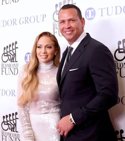 Alex Rodriguez and Jennifer Lopez Throwback