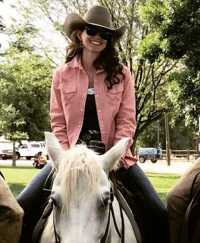 Staci Felker on a Horse