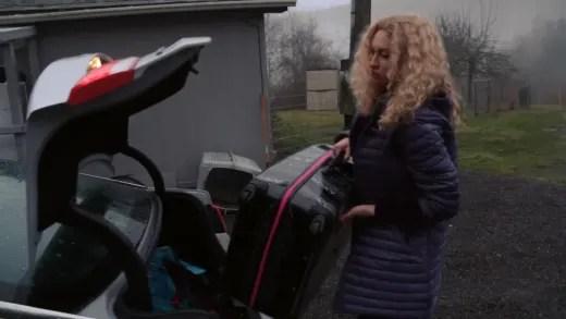 Natalie Mordovtseva arrives in Sequim to pick up her things