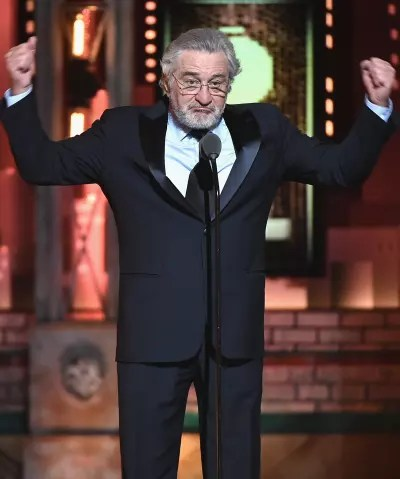 Robert DeNiro Reacts