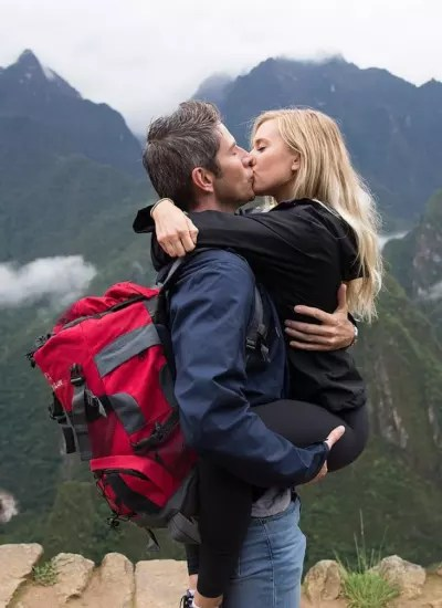 Arie Luyendyk Jr. and Lauren Kiss