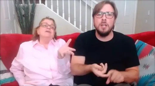 Colt Johnson and Debbie Johnson on 90 Day Fiance: Love Games