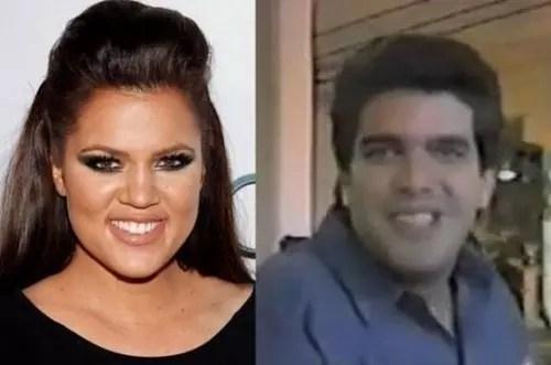 Oj And Khloe Kardashians Resemblance